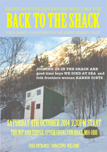 Back to the Shack poster